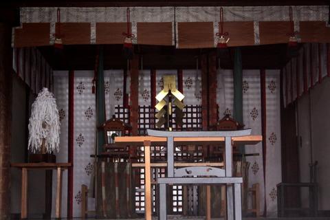 生根神社2拝殿