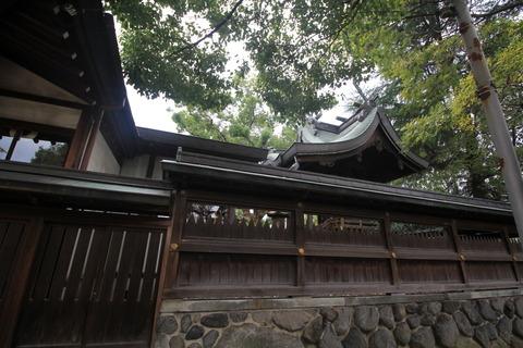 西堤神社5