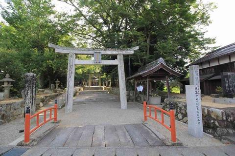 植木神社の鳥居