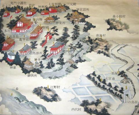 大宮神社古図