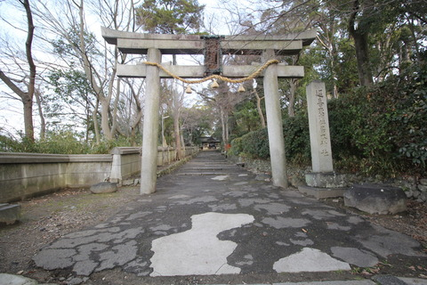 伊居太神社の鳥居