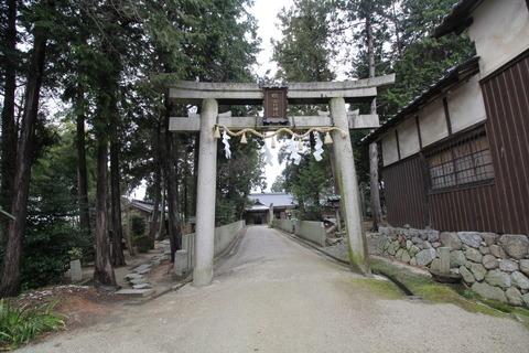 鴨山口神社1