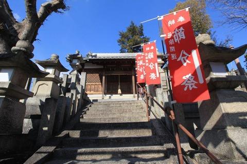 高宮神社の拝殿