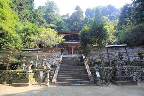 與喜天満神社の本殿