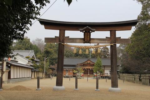 多坐弥志理都比古神社の鳥居(おお・みしりつ)