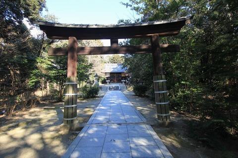 交野天神社三の鳥居