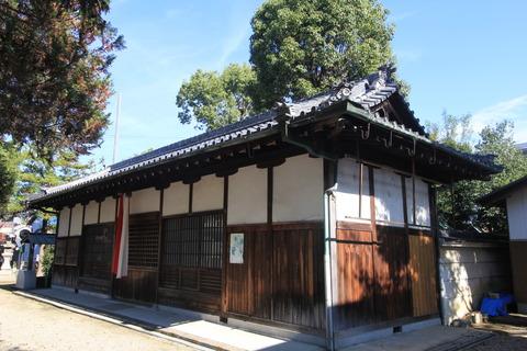 栗殿大神神社の拝殿