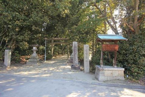 交野天神社の一の鳥居