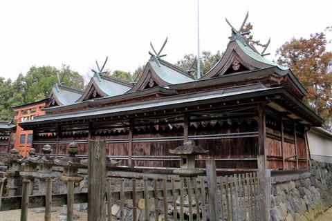 多坐弥志理都比古神社の本殿(おお・みしりつ)