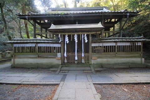 小倉神社の本殿