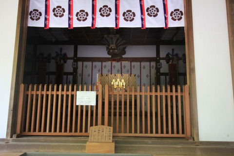 保久良神社の内陣