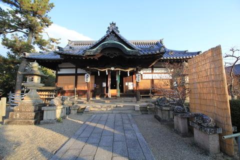 菅原天満宮の拝殿
