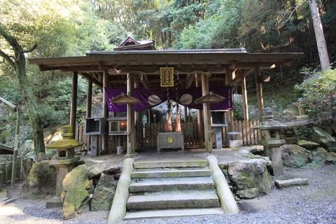天照大神高座神社2拝殿1