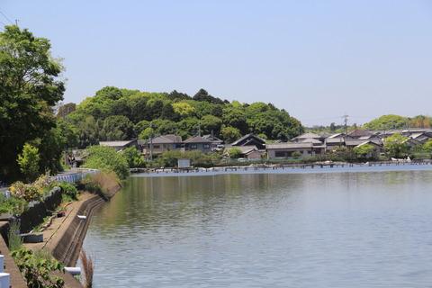 平城天皇陵(水上池より)