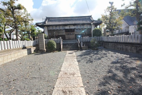 伯太神社の拝殿