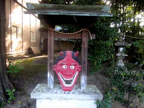 片埜神社の鬼