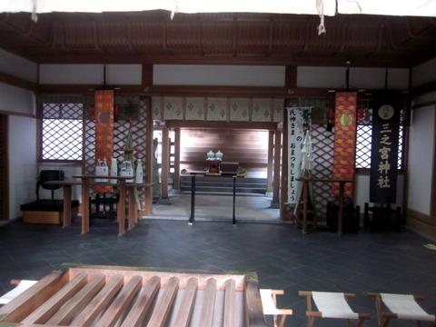 三宮神社拝殿2