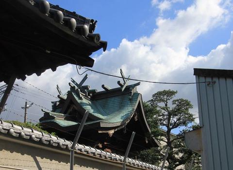 伯太神社の本殿