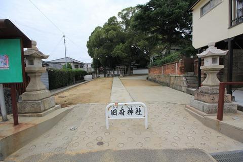 旧府神社の社叢