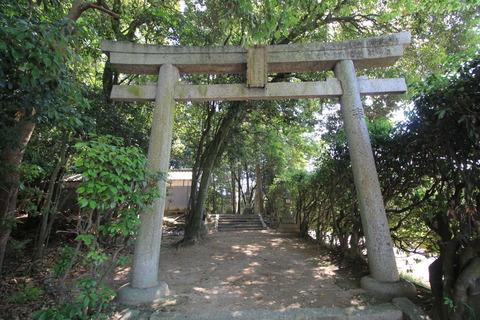 佐紀神社の鳥居