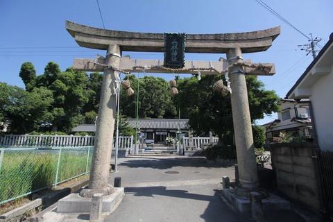 五社神社の鳥居