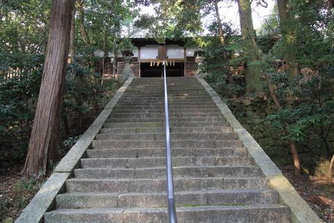 加守神社2拝殿