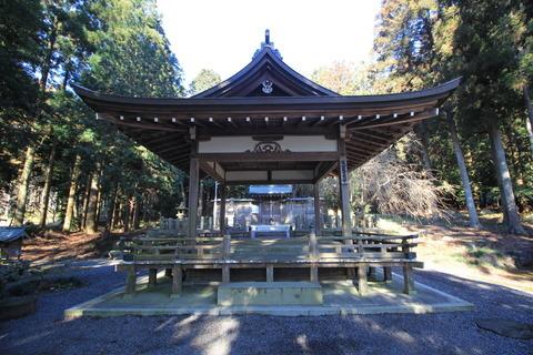 出雲神社の拝殿
