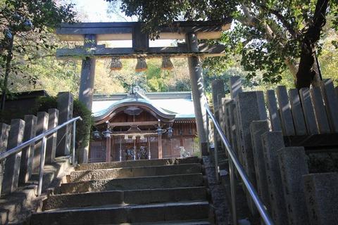 垂水神社の拝殿1