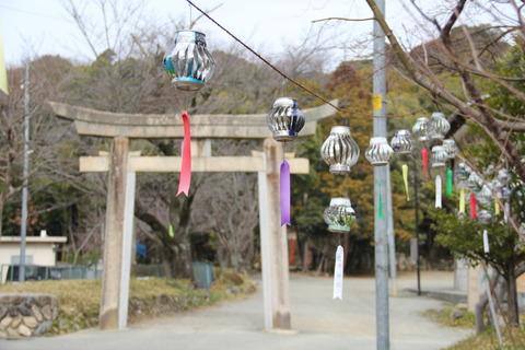 売布神社の鳥居1