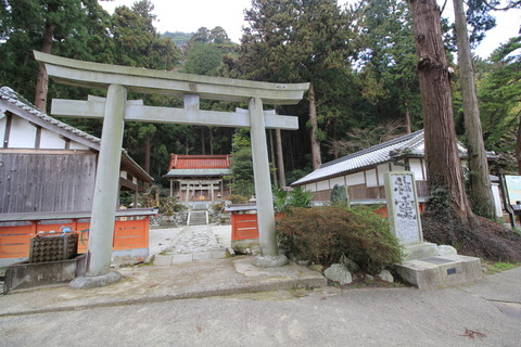 高天彦神社4鳥居