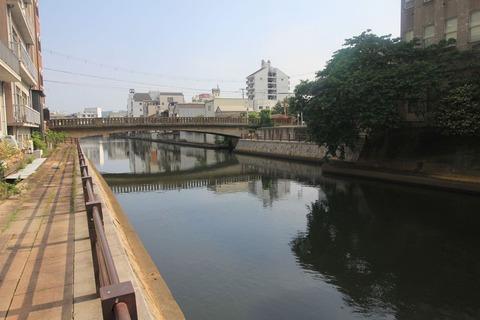 市堀川と寄合橋