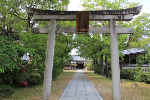 巨椋神社の鳥居2
