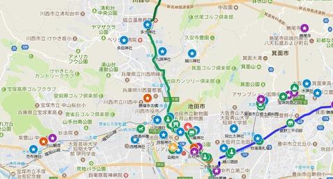 能勢街道マイマップ