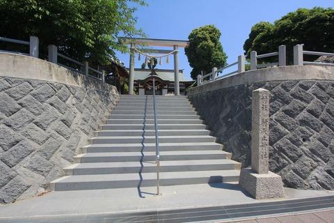 射矢止神社の鳥居