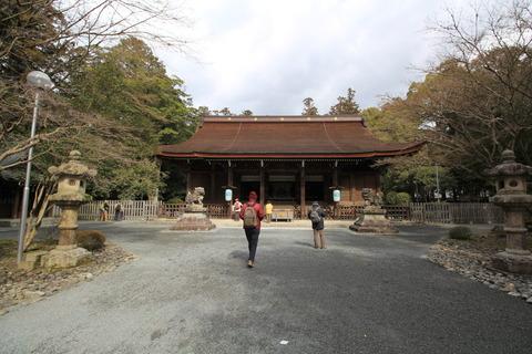 多田神社5拝殿