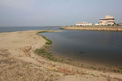 明石川河口
