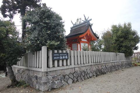 入鹿神社の本殿