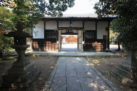 吉志部神社の神門