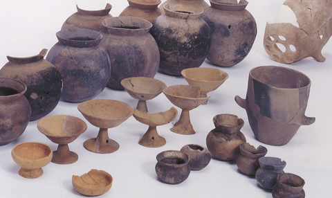 竹内遺跡韓式土器と土師器