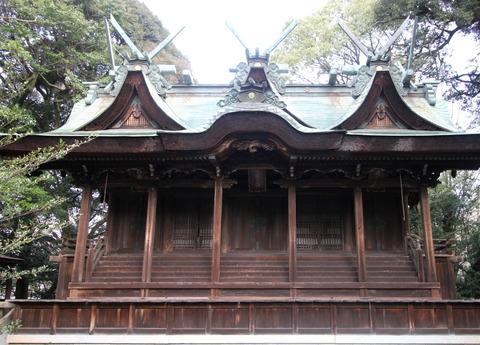 伊居太神社の本殿2