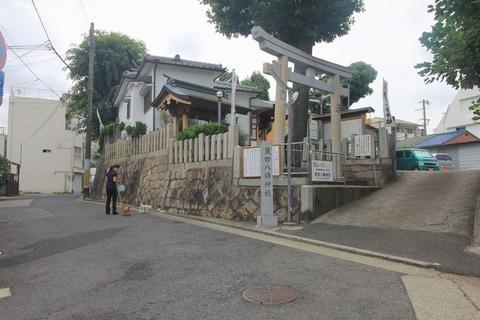 荒田八幡宮全景