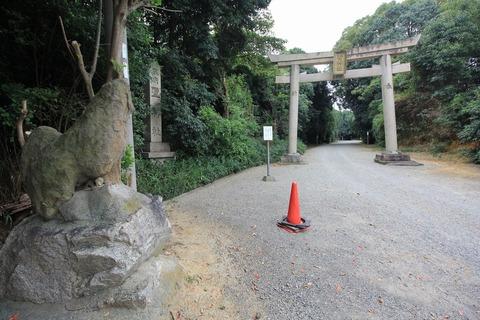 聖神社の二の鳥居