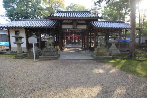 元岩清水八幡の中門