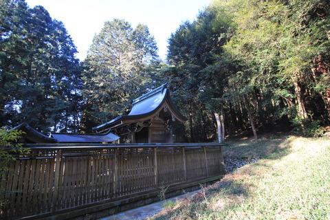 出雲神社の本殿
