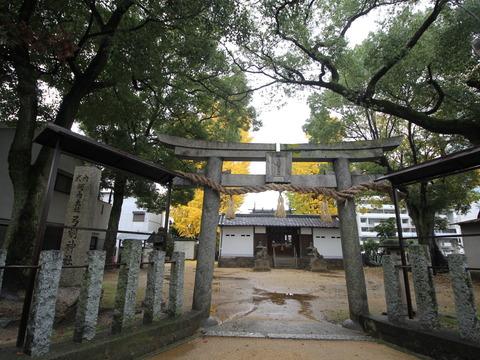 東弓削神社1