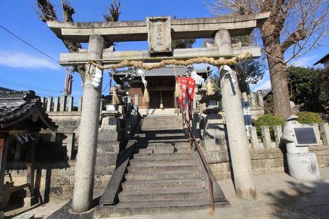 高宮神社の鳥居