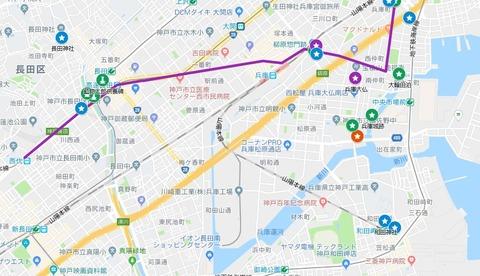兵庫運河マイマップ