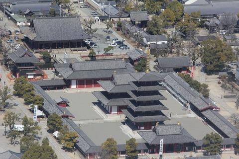 四天王寺俯瞰