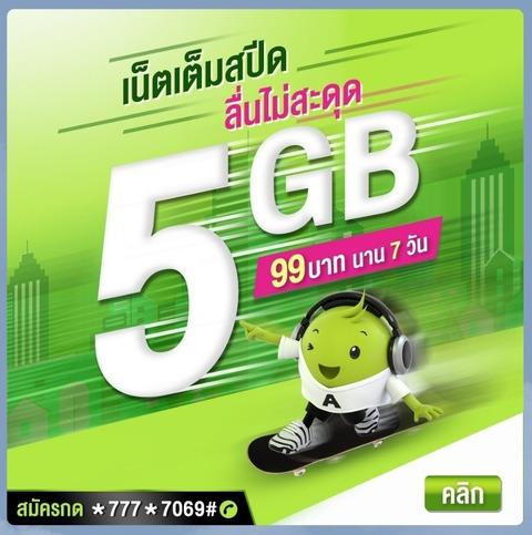 5GB7days