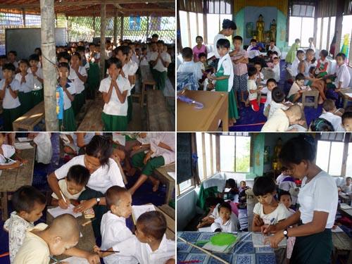 ミャンマーの新学期